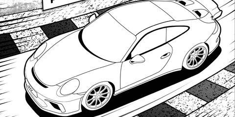 Next Gen Porsche 911 Gt3 Leaked In A Children S