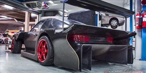 Porsche time Attack 968 rear