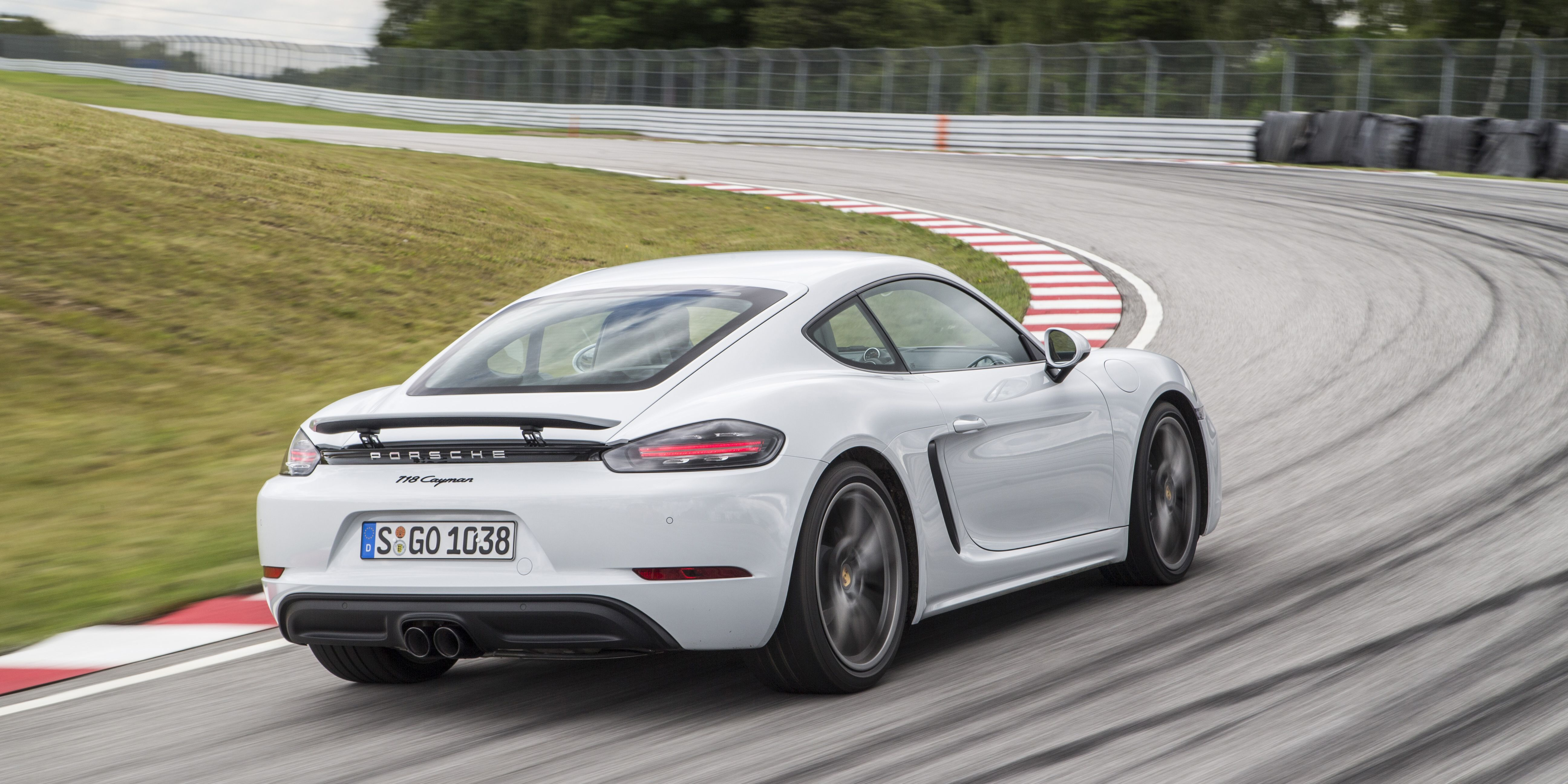 Porsche 718 Cayman First Drive