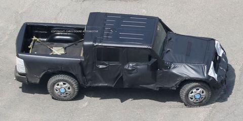 2017 Jeep Wrangler Pickup Truck