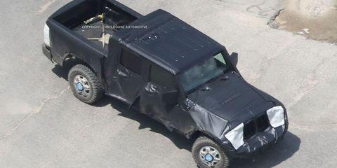 Jeep Wrangler Pickup Truck