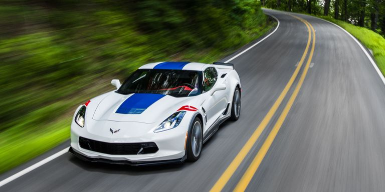 Easy The 460 Horse Stingray Goes At Tame End Supercharged Z06 With 190 Additional Ponies