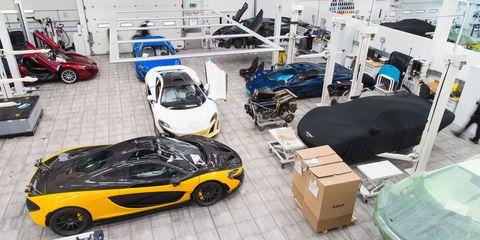 Enter The Secret Workshop Of McLaren Special Operations