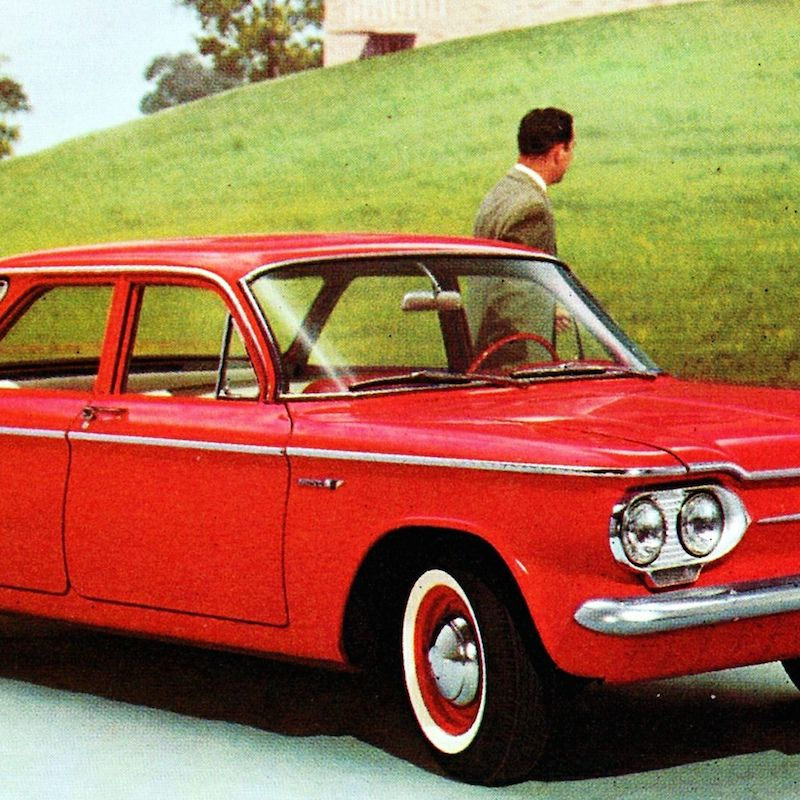 <p>The Chevrolet Corvair changed the automotive industry in a huge way, though probably not in the way GM hoped. It was the center of Ralph Nader's book <em>Unsafe At Any Speed</em>, which sharply criticized the Corvair's use of swing-axle rear suspension and resulting tendency for oversteer. In reality, the Corvair wasn't any worse than other cars with swing-axle rear suspension, but the book forced GM to modify the car significantly and lead the government to play a more active role in car safety.</p>