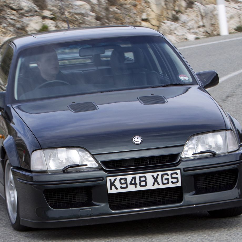 """<p>Today, we barely raise an eye at 200-mph family sedans like the Cadillac CTS-V and Dodge Charger Hellcat, but in early-1990s England, there was serious debate over this, the Lotus Carlton. Lotus took an ordinary Vauxhall Carlton sedan, and cranked everything to 11, resulting in a 180-mph sleeper. It <a href=""""http://jalopnik.com/an-amazing-lotus-tuned-sedan-terrorized-the-uk-in-a-vio-1575033146"""" target=""""_blank"""">was the perfect car for criminals</a>, and it inspired a heated public debate over if it was too quick for a family sedan. Seriously.</p>"""