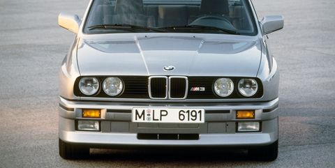 The birth of a legend came with genuine racing credentials: one of the most successful race cars of all time started right here: in 1987, when the M3 entered the World Touring Car Championships, and stretching to 1994, after it had racked up 1436 victories—a win a day, according to one source. It won on dirt and tarmac alike. It won the Italian, British, German, Australian, and World Touring Car Championships. It won the 24 Hours of Nurburgring in its last year of racing. Is it any wonder that the barely-disguised homologation version is worth so much money? Finally, you're buying the real thing.