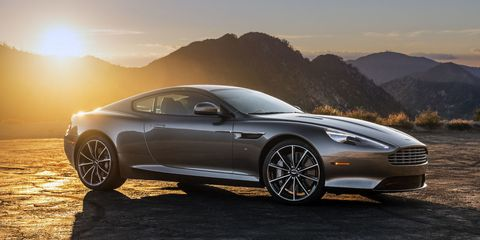 Aston Martin DB The LongLived Savior Of The Brand Ends Production - Db9 aston martin