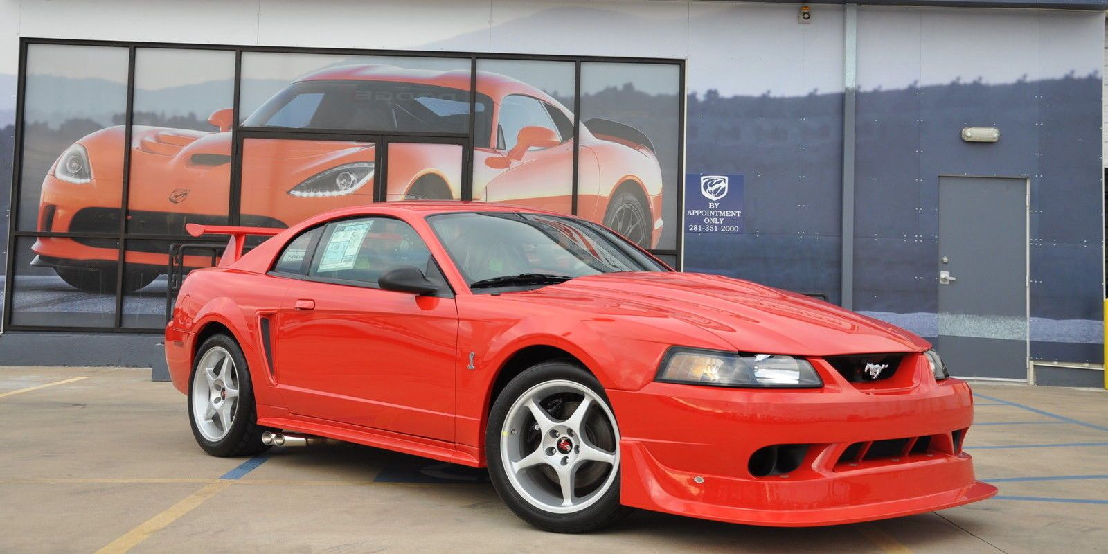 There's a Brand New 2000 Ford Mustang Cobra R For Sale on eBay