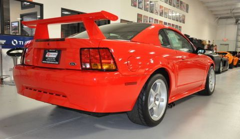there 39 s a brand new 2000 ford mustang cobra r for sale on ebay. Black Bedroom Furniture Sets. Home Design Ideas