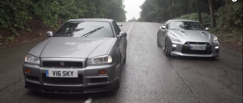 Here's How Today's Nissan GT-R Compares to the Legendary R34 Skyline