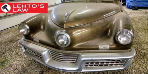 An Ultra-Rare, $3 Million Tucker 48 Was Discovered in an