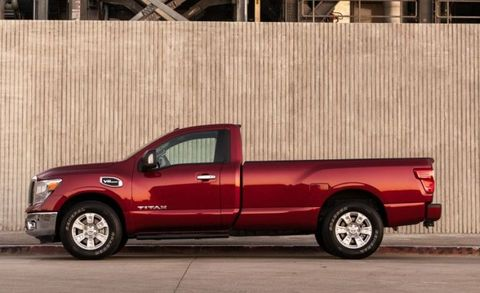This Is The Single Cab 2017 Nissan Titan