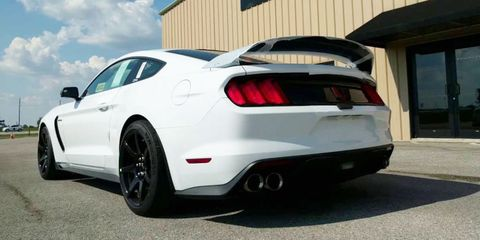 Mustang Shelby GT350R Top Speed - Video of Hennessey Mustang Shelby ...