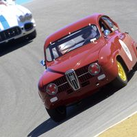 """<p>""""You'd have to be to mad to race a Saab at the Rolex Monterey Motorsports Reunion,"""" <a href=""""http://www.roadandtrack.com/car-shows/monterey-weekend/a30185/1960s-saab-monterey/"""" target=""""_blank"""">many said</a>. Good thing Paul Perry is just a little bit mad.</p>"""