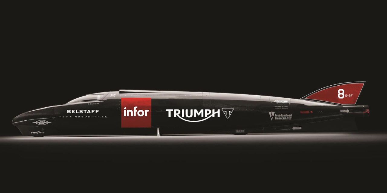 Guy Martin and Triumph Will Attempt a New Motorcycle Land Speed Record