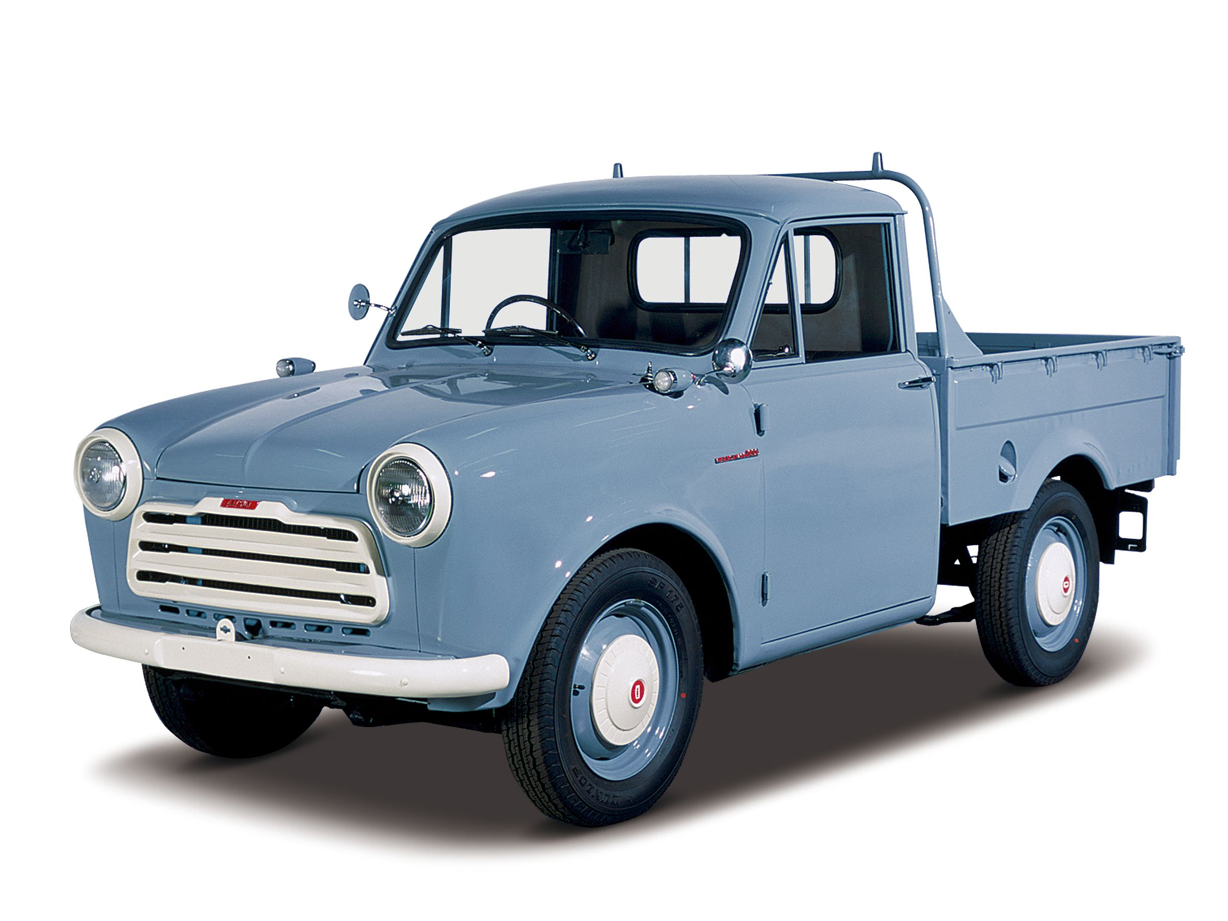 <p>Small pickups are routine sights on American highways. But in the early 1950s, the breed didn't exist. Datsun brought over the very first one back in 1959. The Datsun 1000 pickup was a tyke that used a tiny 37 hp 1000 cc four-cylinder engine and had a hauling capacity of 500 pounds. Full-size American trucks were for the really big jobs, so there was clearly a place for a smaller, more efficient truck. Datsun beat its rival Toyota to the US with a compact by half a decade, jumpstarting a compact trend that would peak in the late 1970s and 1980s with yearly sales in the hundreds of thousands.</p>