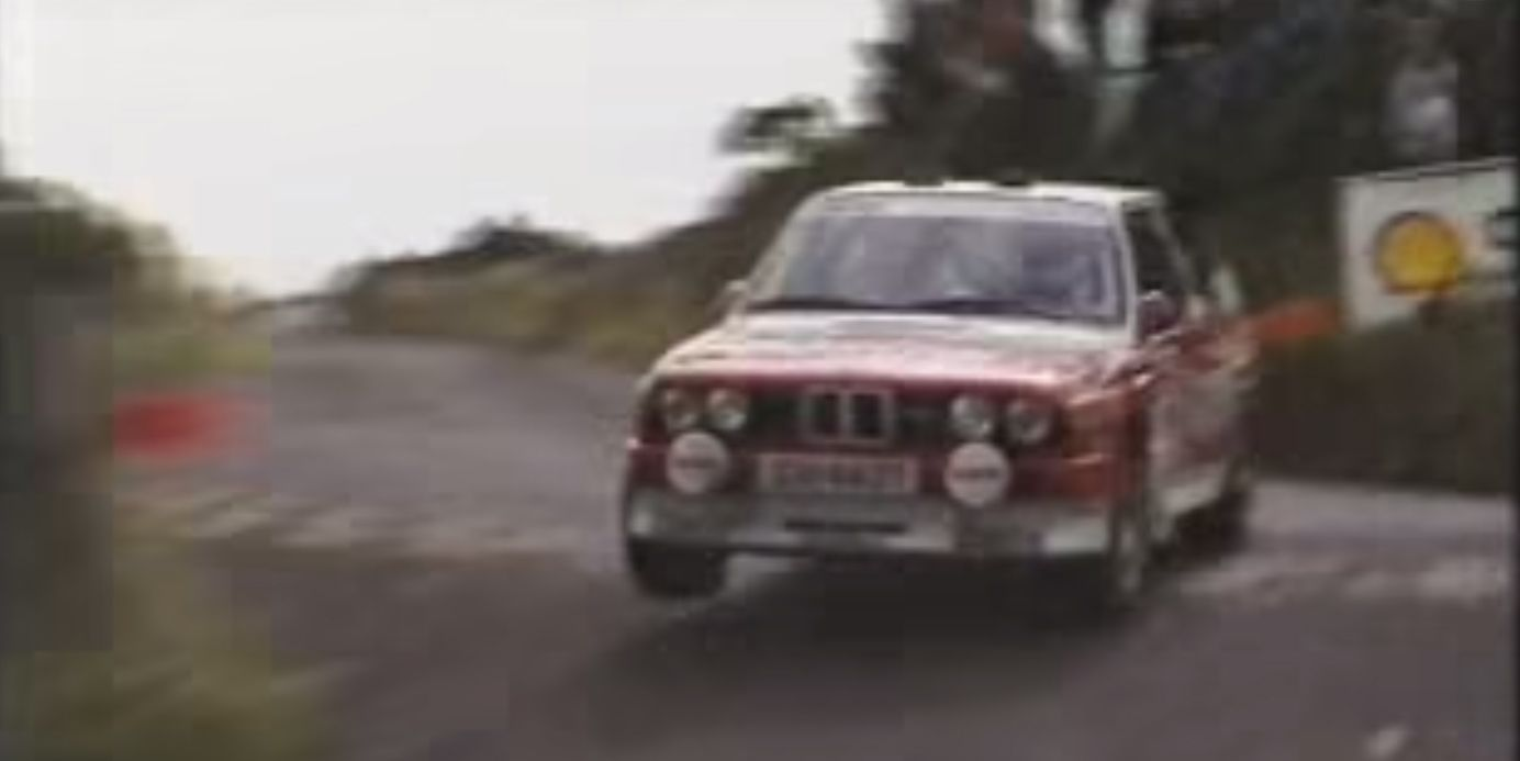 BMW E30 M3  Patrick Snijers Manx Rally Video