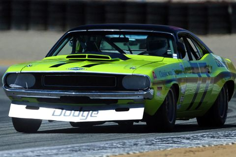 "<p>What does a 1970 Dodge Challenger (Trans Am) and an extended acid bath get you? Sam Posey's <a href=""http://www.roadandtrack.com/car-shows/monterey-weekend/a30182/sam-poseys-dodge-challenger-1970s/"" target=""_blank"">comeback story</a> that reminds us hope is still alive and kicking. </p>"