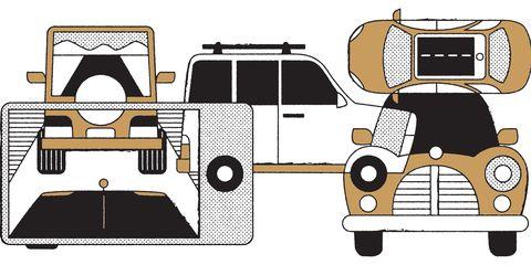 Motor vehicle, Automotive design, Automotive exterior, Fender, Automotive parking light, Automotive lighting, Automotive carrying rack, Vehicle door, Automotive window part, Illustration,