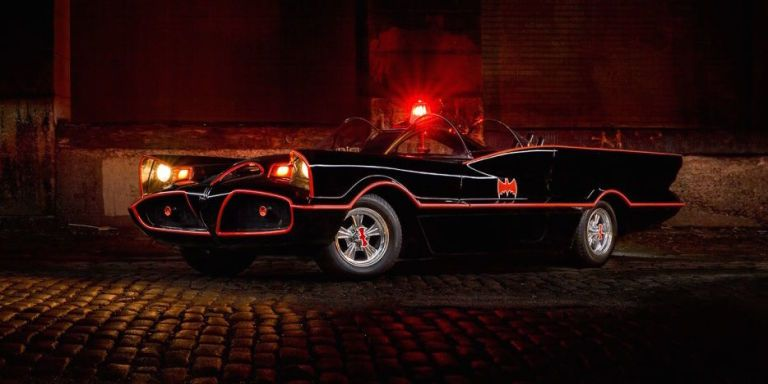 This Perfect 1966 Batmobile Replica Owned By George Barris
