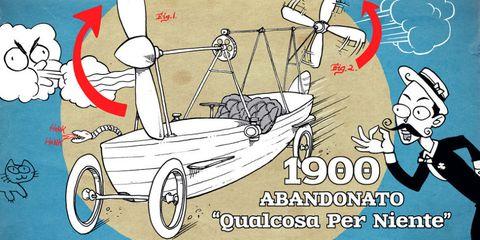 "Our Modest Car Collection: 1900 Abandonato ""Qualcosa Per Niente"""