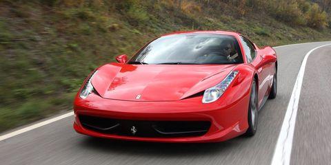 Land vehicle, Vehicle, Car, Supercar, Sports car, Luxury vehicle, Performance car, Automotive design, Ferrari 458, Coupé,