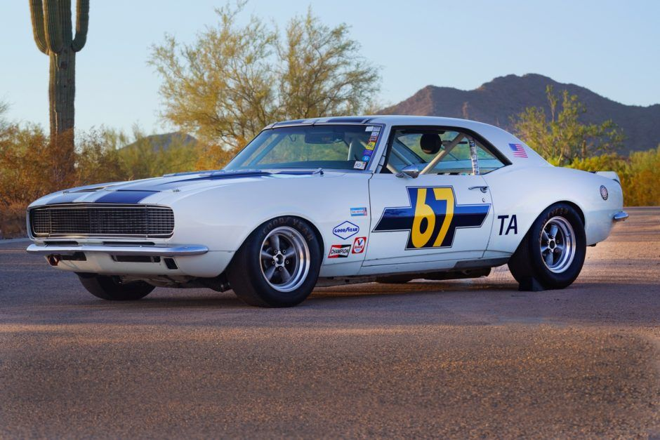 This Historic Trans-Am Car Is for Sale and Already Entered in a Race