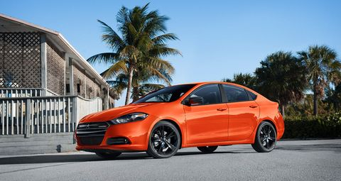 """<p>In some ways, the Dart was cursed before it ever turned a wheel. It seemed strange to apply the moniker of an old-lady-favorite compact from the 1960s and '70s to an all-new entry aimed at the millennial set. Nonetheless, the front-wheel-drive sedan came to life, built on a modified Fiat-Alfa platform.&nbsp;<a href=""""http://www.caranddriver.com/reviews/2013-dodge-dart-first-drive-review"""" target=""""_blank"""">Initial response was good</a>; the styling was on the mark, and, from the stage at the 2012 Detroit auto show, the interior appeared to be well appointed and stylish. Unfortunately, once the cars began to trickle into public circulation, it became painfully clear that the Dart could have used more time in the incubator. Complicating matters, Chrysler initially offered the car in a bewildering number of trim and powertrain combinations—FCA chairman Sergio Marchionne later admitted it should have led with the 2.4 Tigershark four-cylinder as the sole engine and let the 2.0-liter naturally aspirated and 1.4-liter turbocharged engines trickle into the lineup later, if at all. Although sales peaked in 2015 at 87,392 units, FCA determined it was a better use of its resources to reconfigure the Dart's Belvidere, Illinois, assembly plant to make full-size trucks instead, eliminating the Dart from the lineup at the end of the 2016 model year. FCA has not, however, ruled out resurrecting the Dart if it can strike a deal with another manufacturer to build it under contract.&nbsp;</p><p><em data-redactor-tag=""""em""""></em></p>"""