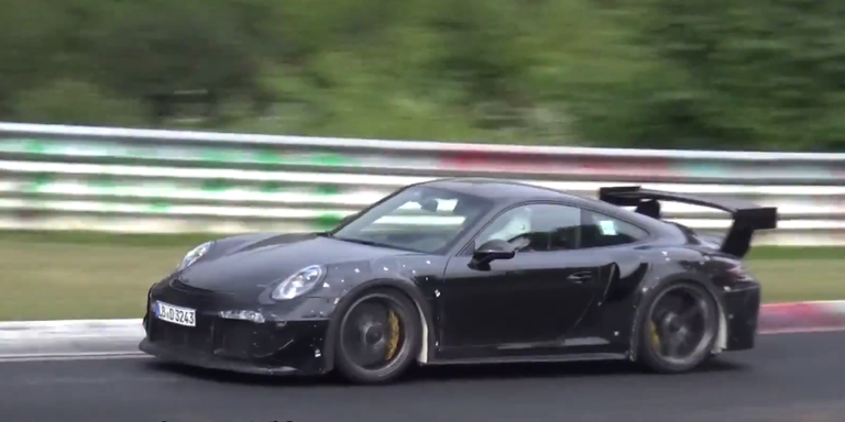 Watch the New Porsche 911 GT2 RS Rip a Hole Through Space Time at