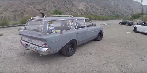 This Homebuilt 60s Rambler Is the Best NASCAR Wagon Ever