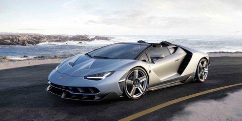 Lamborghini S Bonkers Centenario Loses Its Roof