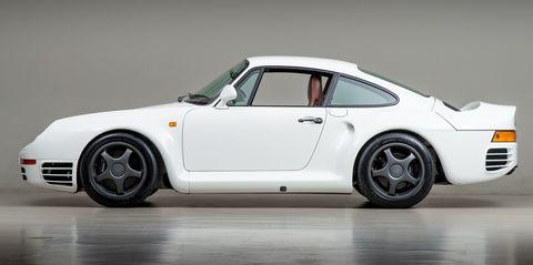 Porsche 959 canepa gen iii side