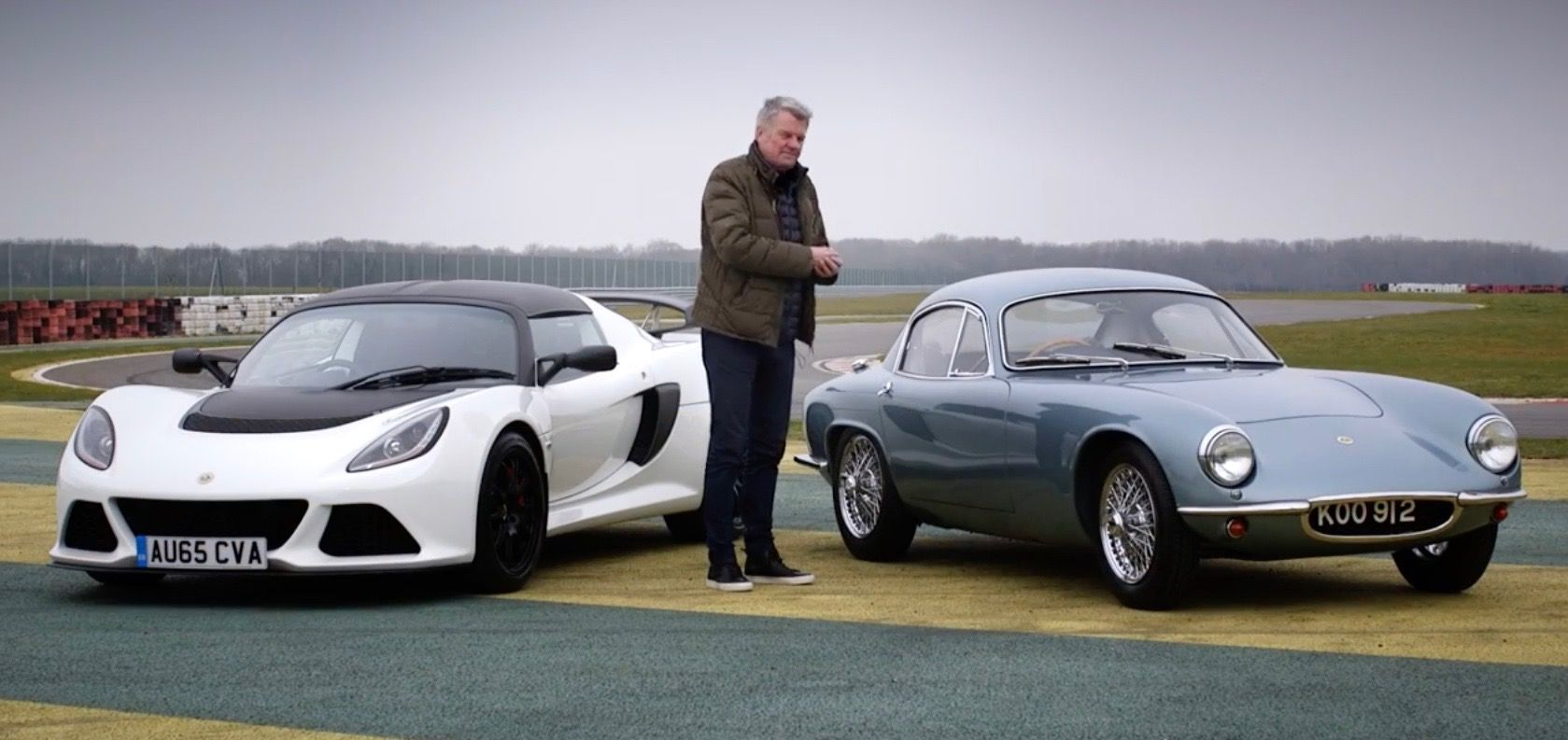 A 1957 Lotus Elite and a 2016 Exige Sport 350 Share the Same Goal