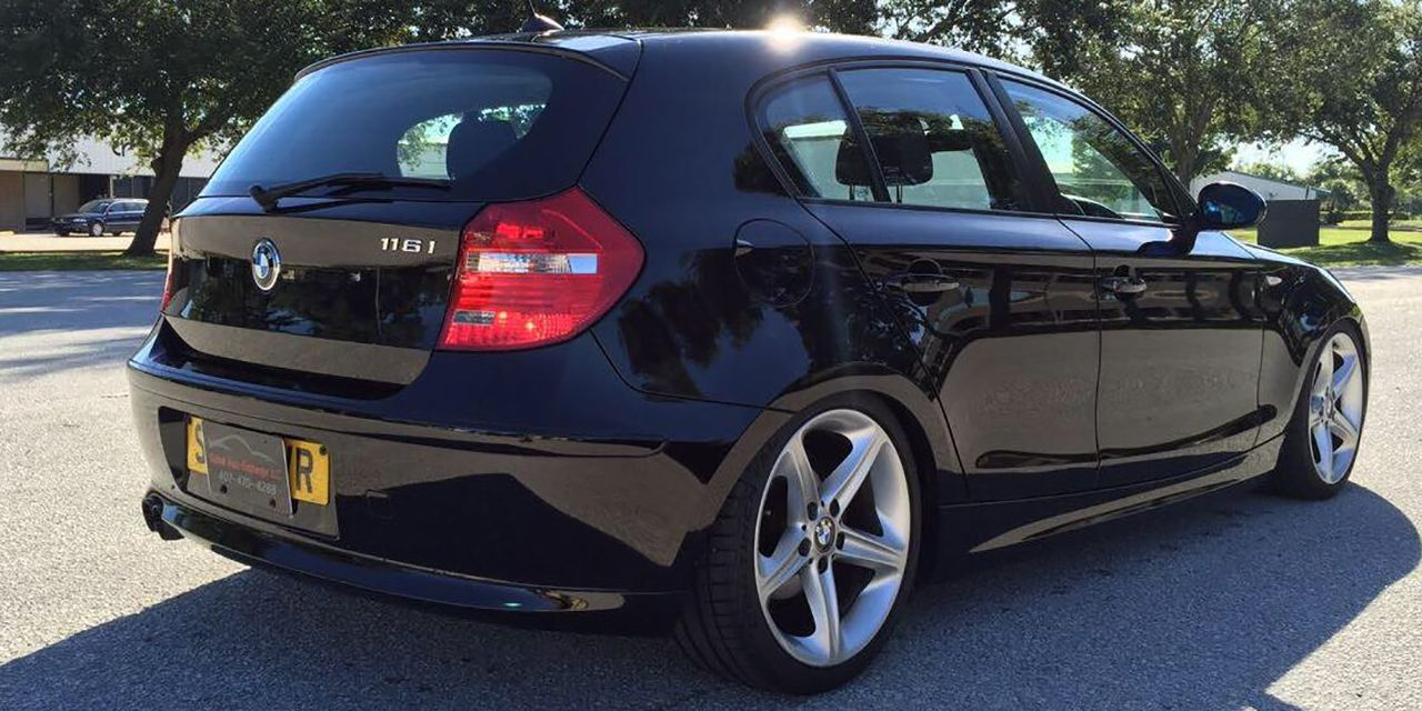 Tempt Fate With This Possibly Crushable Bmw 1 Series Hatchback