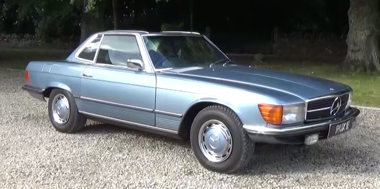 A 1971 mercedes 350sl is an elegant classic with no old for Garage mercedes monaco
