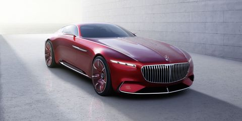 The Mercedes-Maybach 6 Concept Is a 738-Horsepower Electric Luxury Yacht
