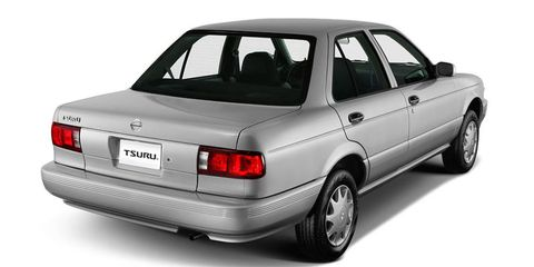 The 1991 Nissan Sentra Is Finally Going Out of Production