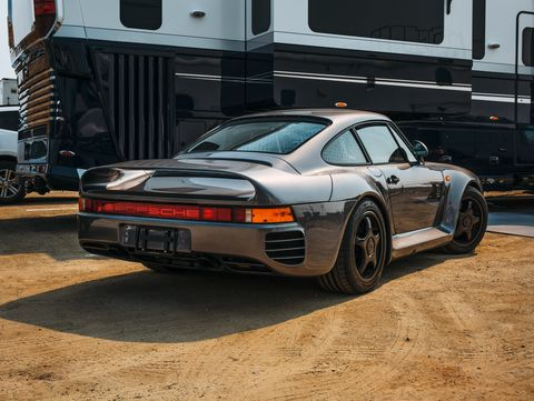 Porsche 959 Monterey Historics