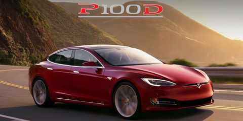 Tesla Model S P100d Ludicrous New Tesla 0 60 Acceleration