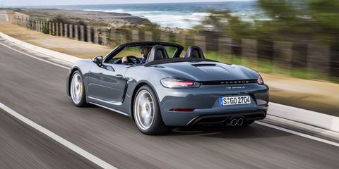 Proof the New Porsche 718 Boxster Sounds Exactly Like a Subaru