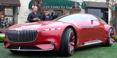 Mercedes-Maybach 6 Concept remote controlled