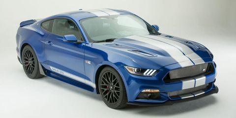 Usually The Shelby Badge Is Saved For Hottest Highest Performing Mustang Variants Not So Today Feast Your Eyes On 2017 Gte