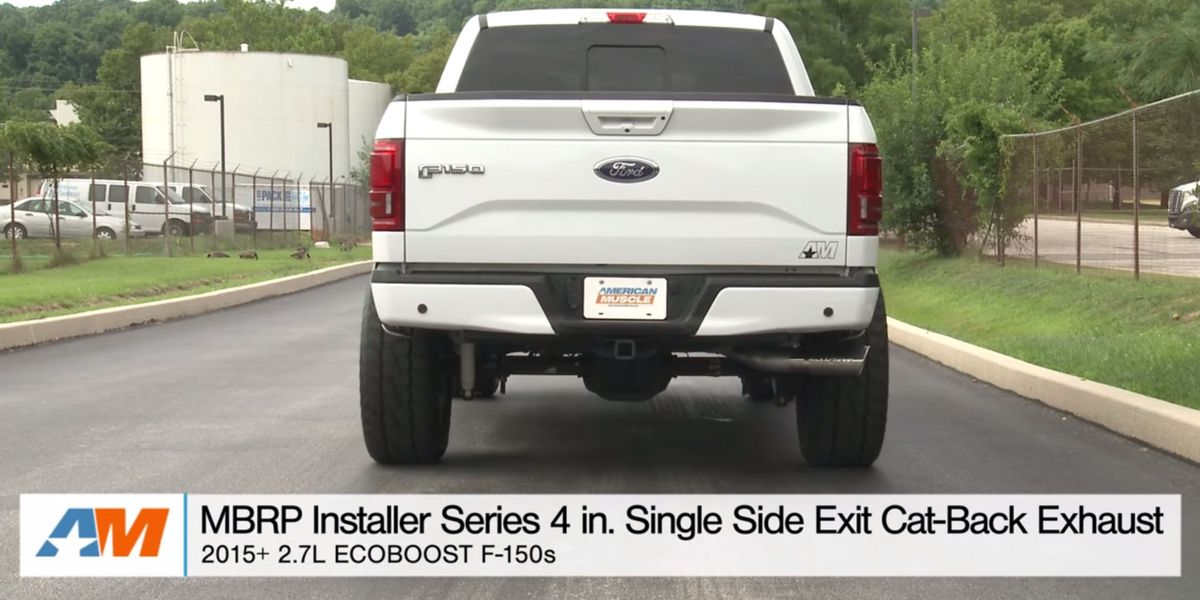 Ford F 150 Ecoboost Exhaust Kit Make Ecoboost Ford Sound Better
