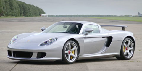 Take A Look Back At The Iconic Porsche Carrera Gt Supercar