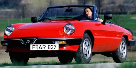 Alfa Romeo Abandoned A New Spider To Focus On Crossovers - Alfa romeo spider new model