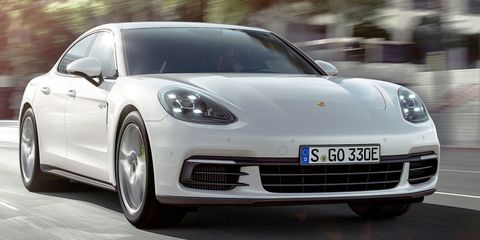 The New Porsche Panamera 4 E-Hybrid Is Seriously Quick