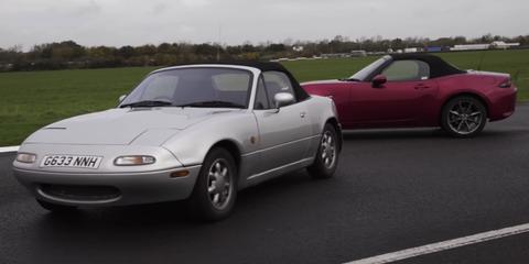 Mazda MX-5 Miata NA vs ND