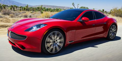 So Check Out This New Car That Just Debuted In California It S Called The Revero Brand First Offering Of Upstart Company Karma