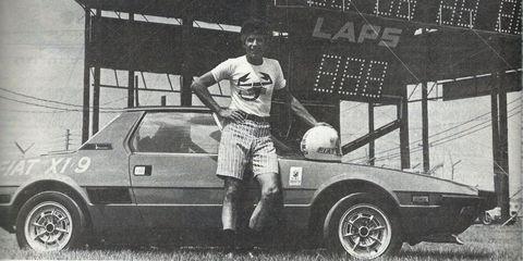 Al Cosentino Fiat X1/9