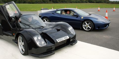 Ultima Gtr For Sale >> McLaren Automotive Secretly Used These Two Ferraris to ...